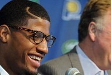 Larry Bird resigns as president of the Pacers; Is Paul George next to leave Indiana?