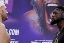 WATCH: Tyson Fury - Deontay Wilder have longest staredown ever