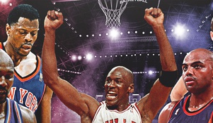 The Unofficial 90s NBA All-Decade Team