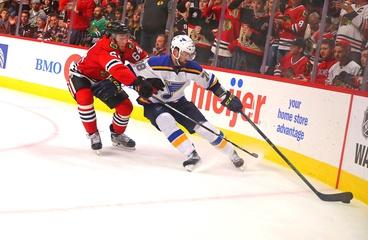 Puck Drops on NHL Season with Blues/Hawks Tilt