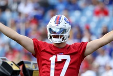 Josh Allen is getting PAID to stay with the Bills