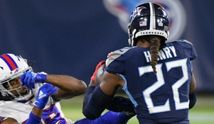 Titans - Bills betting lines and trends