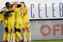 Nashville SC players and fans react to the club's first ever win in MLS