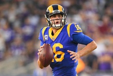 Goff Throws 5 Touchdown Passes in Offensive Shootout, Leads Rams to Victory