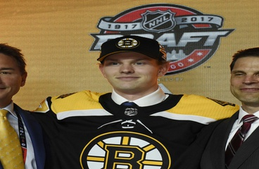 Bruins Sign 2017 First Rounder