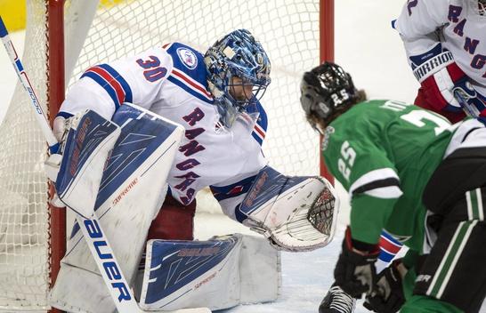 The Rangers Score 2 goals in the 3rd vs the Stars as King Hankie Returns