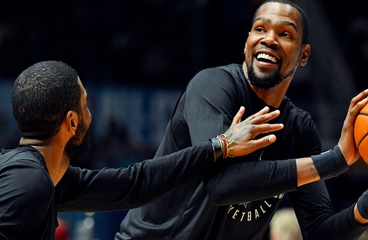Will Kevin Durant and Kyrie Irving join forces in New York this summer?