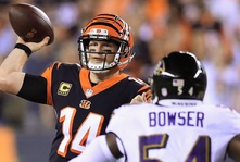 Dalton, Green Lead Bengals To Thursday Night Win Over Rival Ravens
