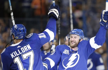 Lightning dominate the Bruins in winning the series