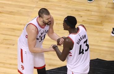 The Raptors Beat the Bucks In Double/OT Thriller.