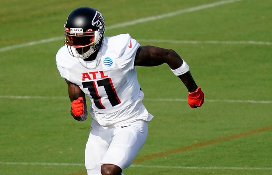 Julio Jones narrows desired landing spots to the Titans and Patriots