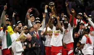The Raptors Beat The Warriors In 6 Games.