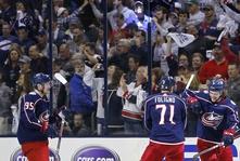 Blue Jackets Go Up 2-1 over the Bruins.