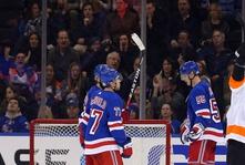 Flyers Explode for Seven Goals in Win Against Rangers