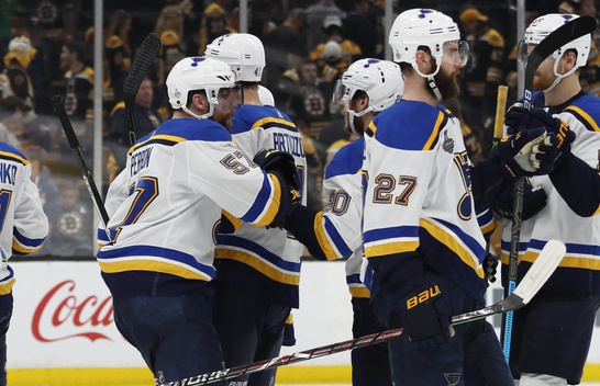 The St Louis Blues Go Up 3-2 In The Stanley Cup Finals