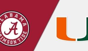 80 days away: Miami vs. Alabama