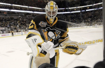 Fleury Yanked; Murray Sparks Pittsburgh in High Scoring Affair