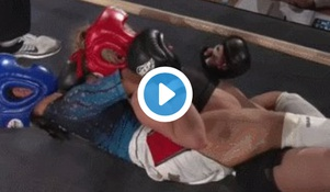WOW! 12 Year Old Chokes Out 22 Year Old Opponent In MMA Event
