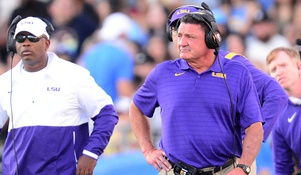 Ed Orgeron occupies the hottest of hot seats