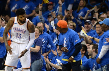 Playoff P shows why OKC is a legit title threat