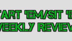 Week 9: Start 'Em/Sit 'Em Review