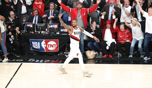 The Trailblazers Send OKC Home On a 37-Foot Three at the Buzzer.