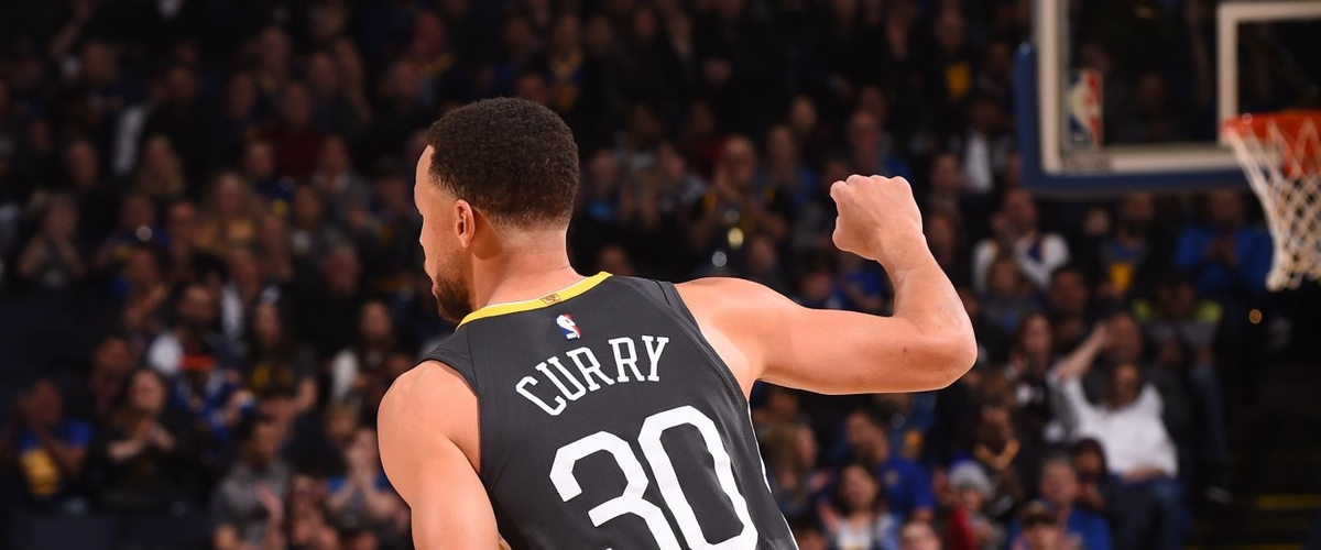 NBA Player of the Night Steph Curry