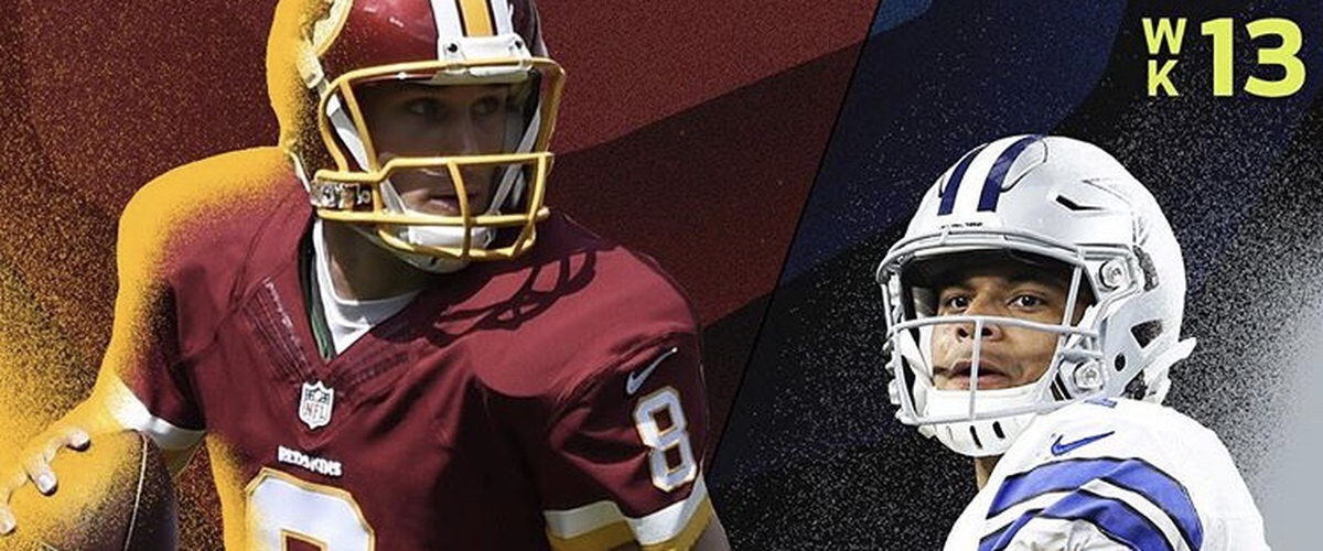 NFL Thursday Night Football Redskins vs Cowboys