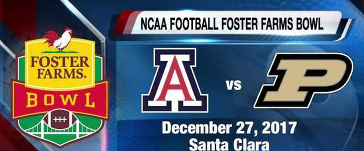 The Obstructed Foster Farms Bowl Preview: Arizona vs. Purdue