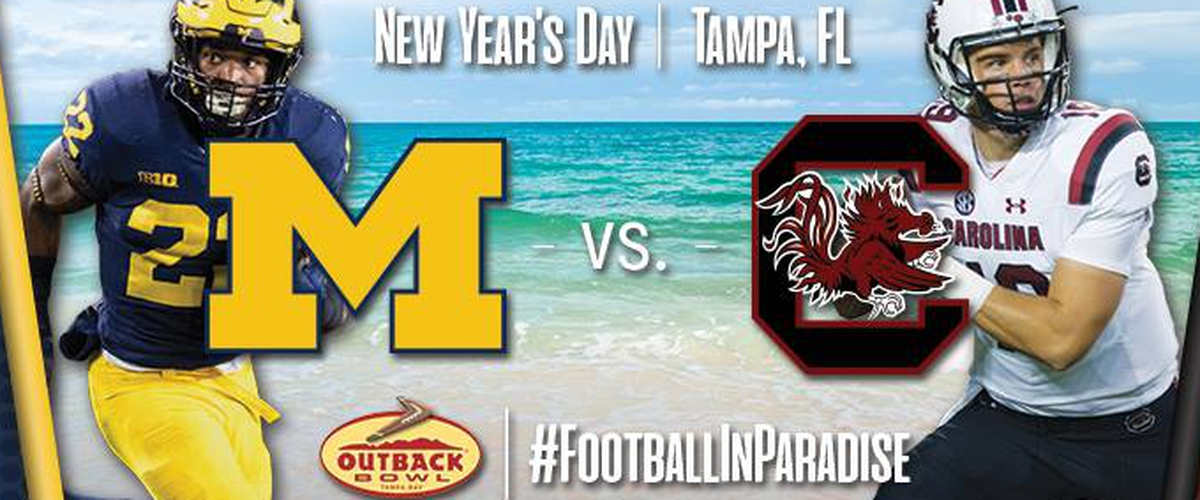 The Obstructed Outback Bowl Preview: Michigan vs. South Carolina