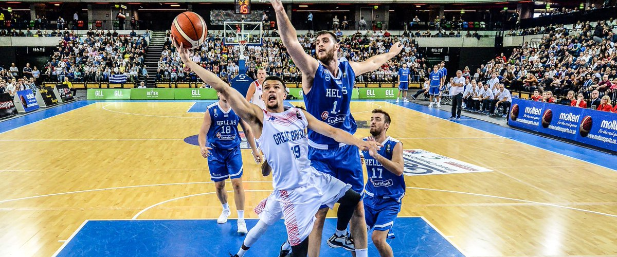 GB make progress, but can't upset Greece in London...