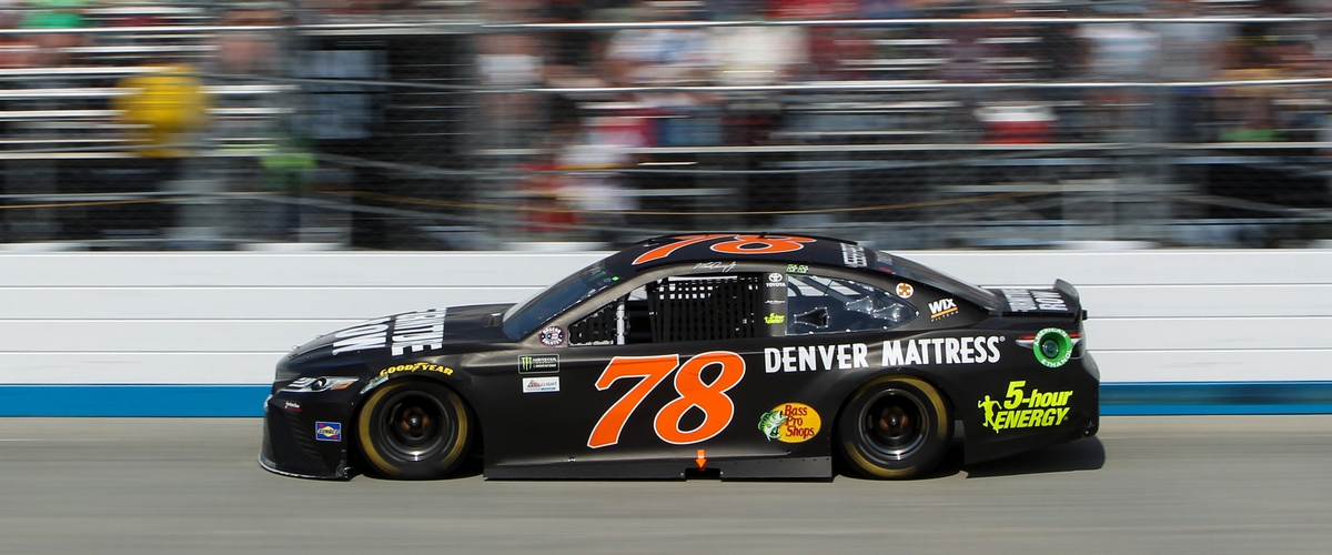 Daily Fantasy NASCAR - DraftKings Average Points on Intermediate Tracks