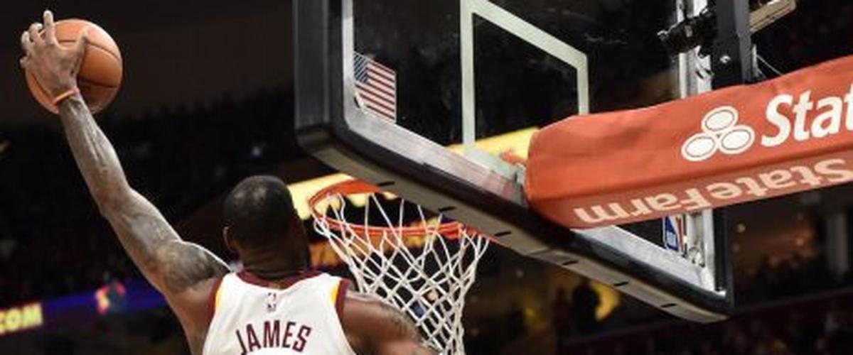 NBA Player of the Night LeBron James