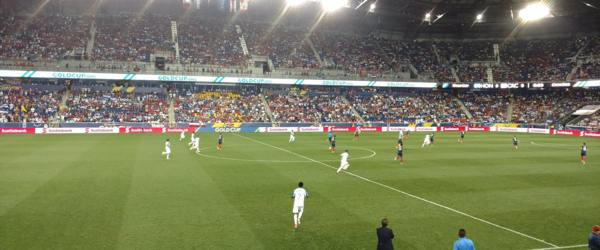 Canada And Costa Rica Wins in Gold Cup at Red Bull Arena