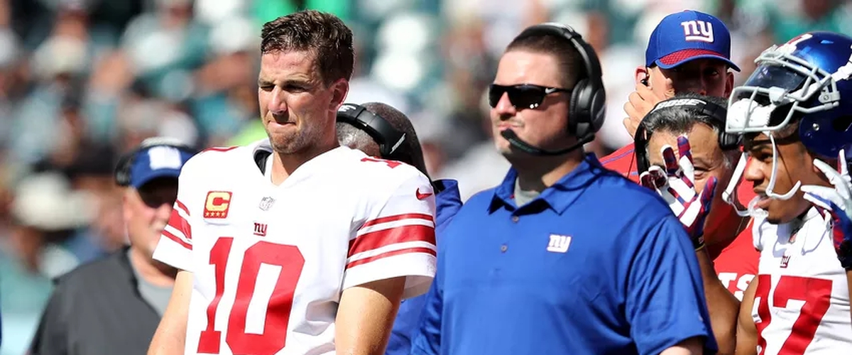 Giants bench Eli, Embrace Tanking