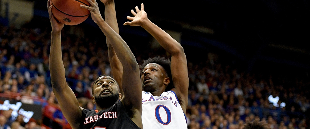 Jayhawks fall at home to Red Raiders