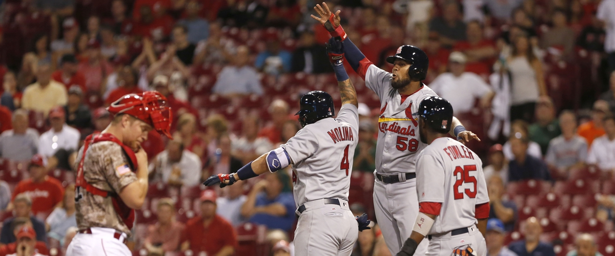 Cardinals Sweep the Reds; now, only 1 1/2 games out for second Wild Card