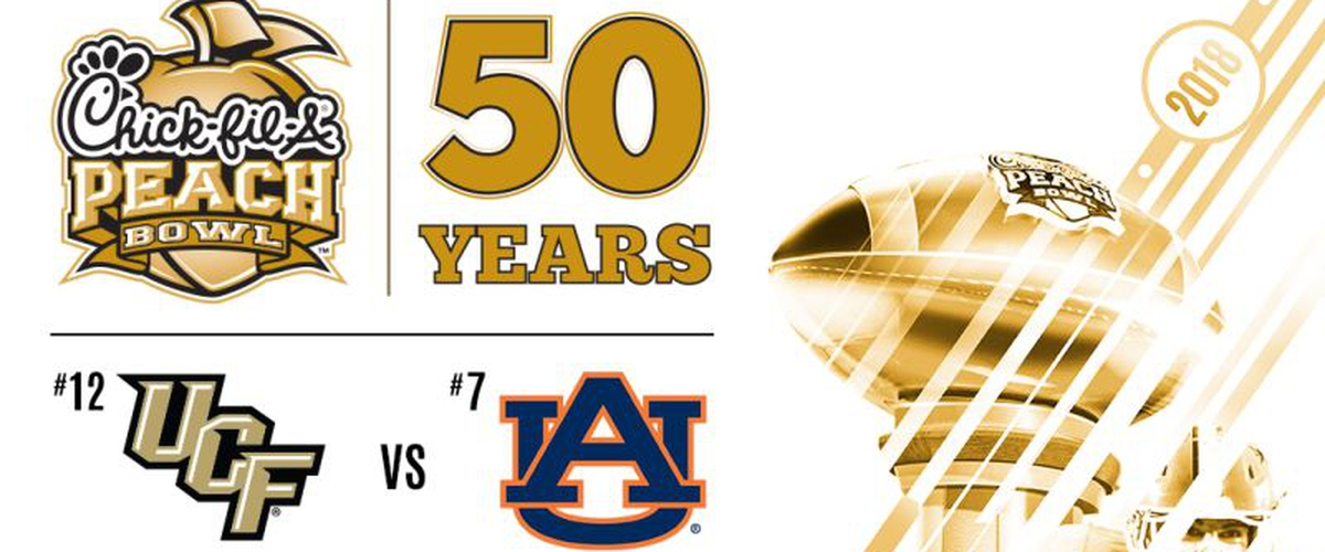 The Obstructed Peach Bowl Preview: Auburn vs. UCF