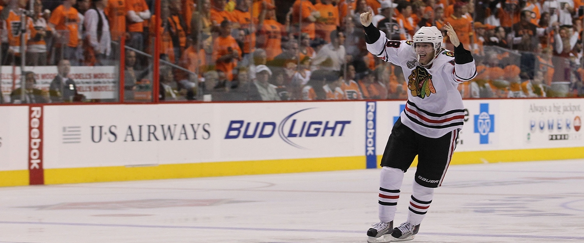 Seven Years Ago Today The Blackhawks Won The Stanley Cup On A Patrick Kane OT Goal