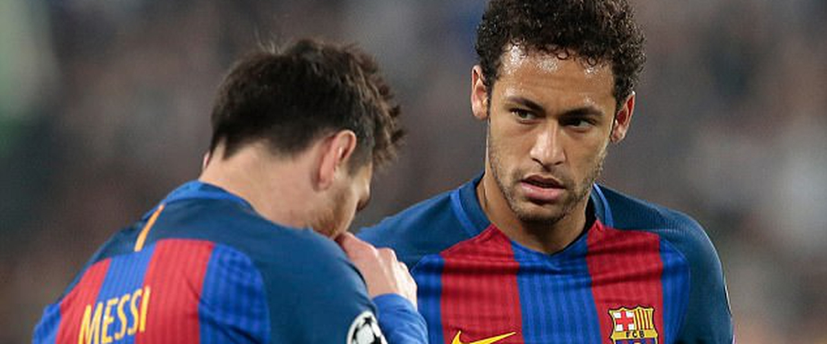Neymar is tired of Messi's shadow, thinking of leaving Barcelona