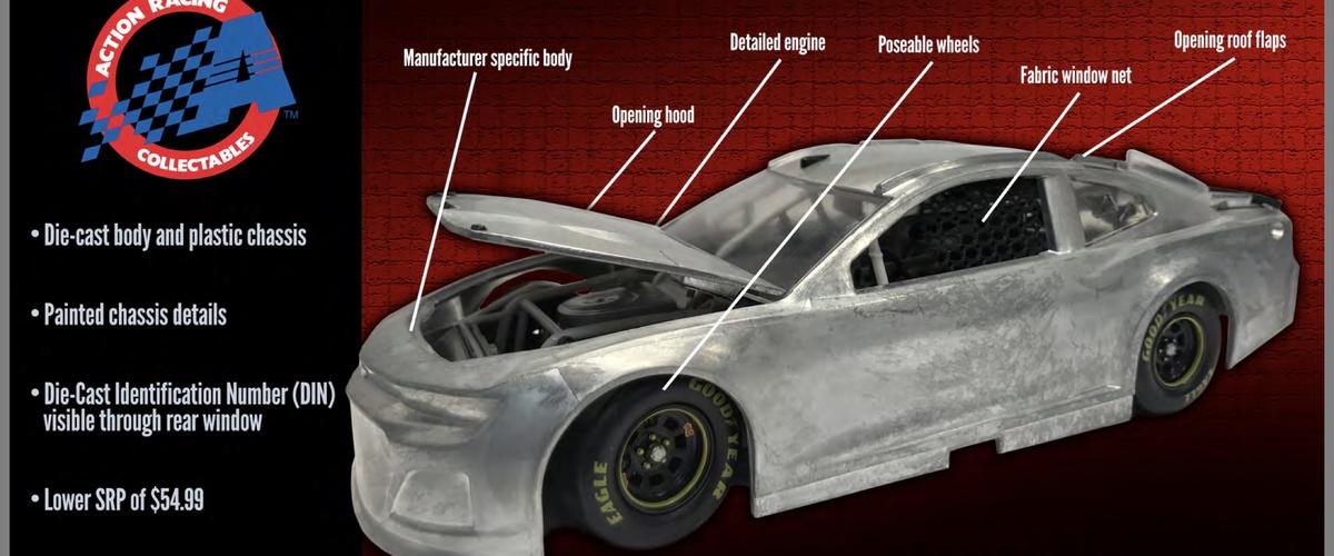 2018 NASCAR Diecast changes