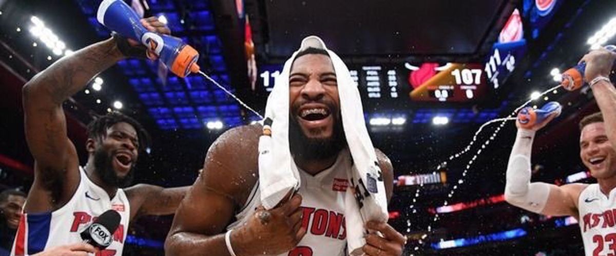 NBA Player of the Night Andre Drummond