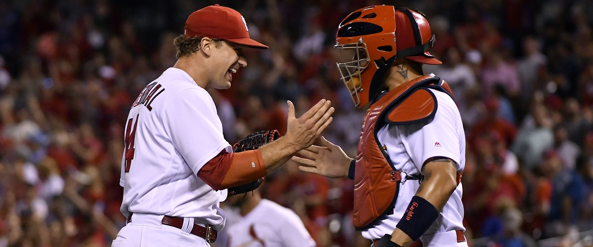 Good-Bye, Trevor Rosenthal ~ St. Louis Cardinals closer.