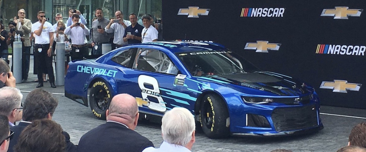 CHEVY TO RUN CAMARO IN CUP SERIES...Seriously?????