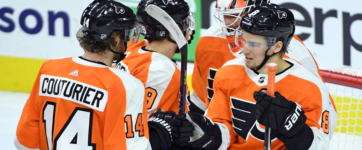 Flyers Top Red Wings