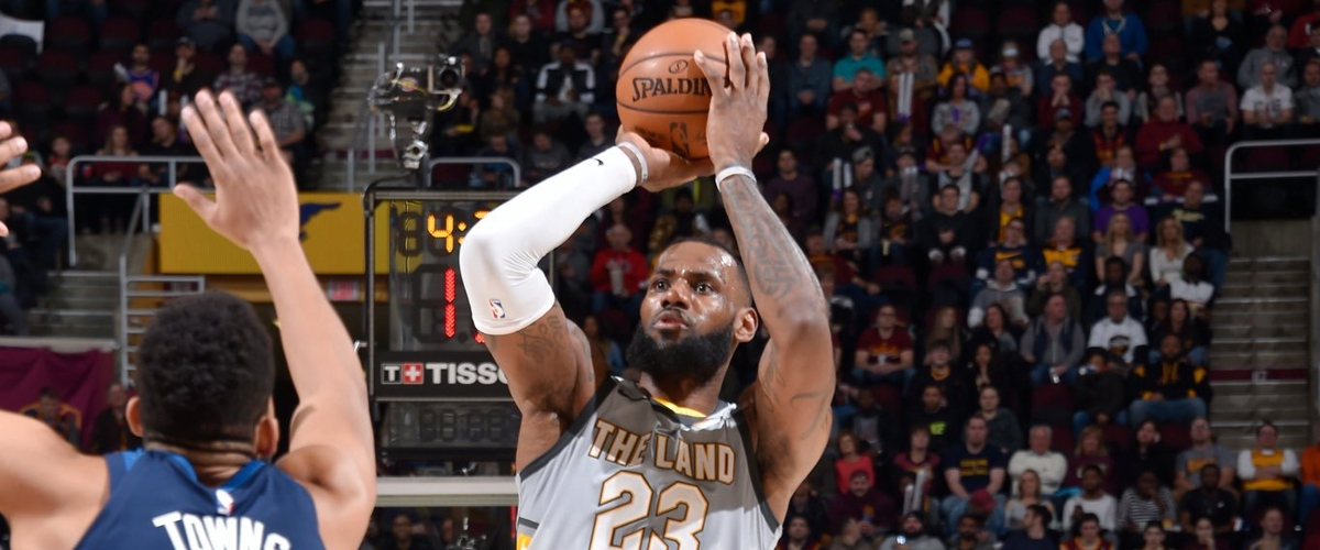 NBA Player of the Night LeBron James