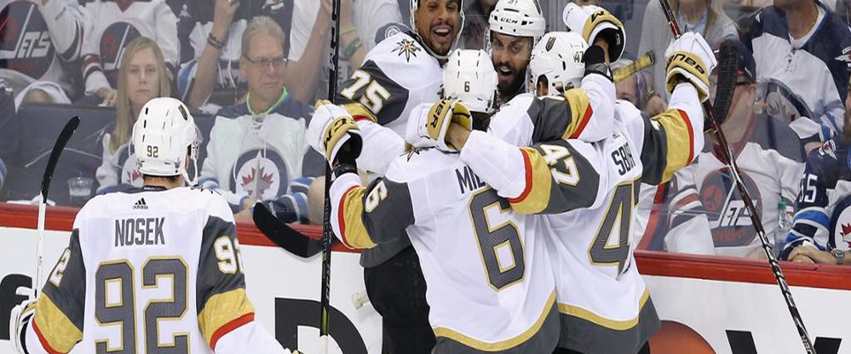 Golden Knights Continue Improbable Run: Down Jets En Route to Stanley Cup Finals