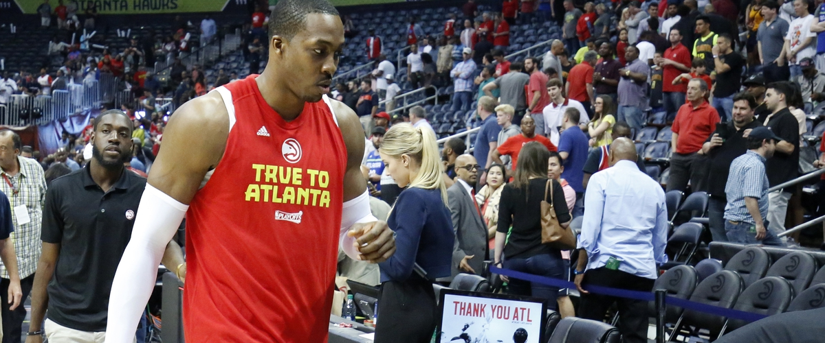 The Dwight Howard homecoming over in Atlanta, traded to the Hornets