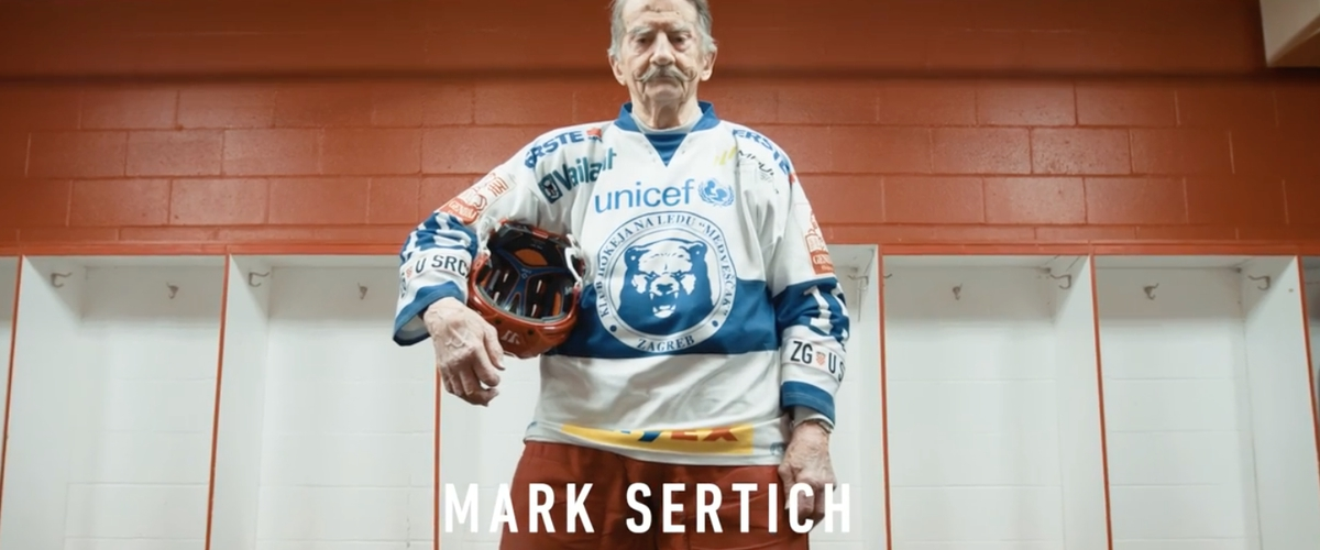 Meet Mark Sertich, The Age Defying 95-year Old Hockey Player [VIDEO]