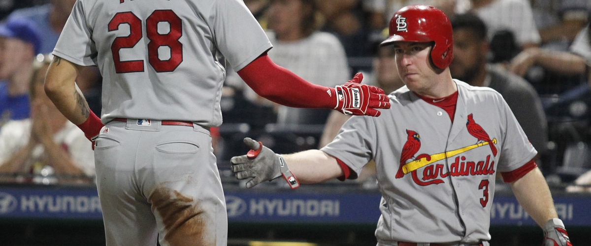 Cardinals take the win in the ninth over Pirates; and, Cardinals Jose Martinez will not finish series.
